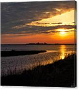 Assateague Sunrise Vertical Canvas Print