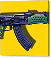 Assault Rifle Pop Art - 20130120 - V2 Canvas Print
