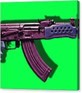 Assault Rifle Pop Art - 20130120 - V3 Canvas Print