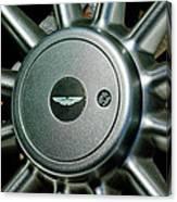 Aston Martin Db7 Wheel Emblem Canvas Print
