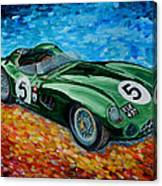 Aston Martin Dbr1 Canvas Print