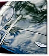 Aston Martin Hood Emblem 4 Canvas Print