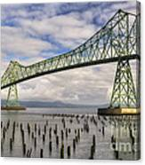 Astoria Bridge Canvas Print
