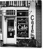 Astoria Cafe Canvas Print