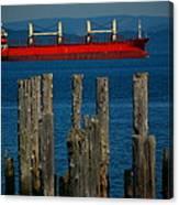 Astoria Tanker Canvas Print
