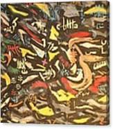 Astratto 1957 Canvas Print