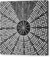 Astrodome Ceiling Canvas Print
