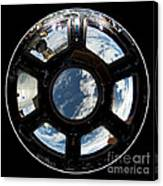Astronauts View From The Space Station Canvas Print