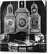 Astronomical Clock, C1750 Canvas Print