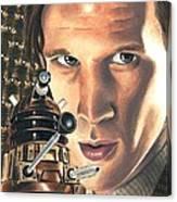 Doctor Who - Asylum Of The Daleks Canvas Print