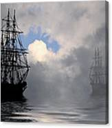 At Anchor Canvas Print