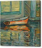 At Boat House 2 Canvas Print