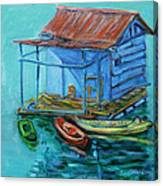 At Boat House Canvas Print