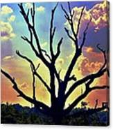 At Life's End There Is Light Canvas Print