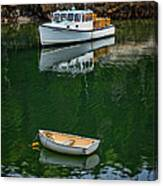 At Rest In The Cove Canvas Print