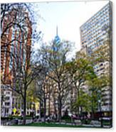 At Rittenhouse Square Canvas Print