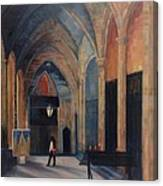At The Barcelona Cathedral Canvas Print