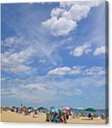 At The Beach 3 Canvas Print