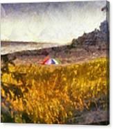 At The Beach Photo Art 01 Canvas Print