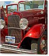 At The Car Show Canvas Print
