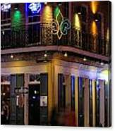 At The  Club On Bourbon Canvas Print