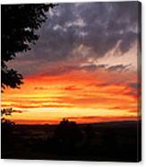 At The End Of The Day ... Canvas Print