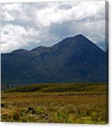 At The Foot Of The Mountain Canvas Print