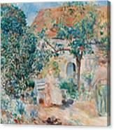 At The Garden In Bretagne Canvas Print