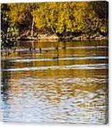 At The Lake-34 Canvas Print