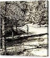 At The Lake-41 Canvas Print