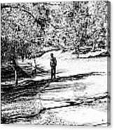 At The Lake-42 Canvas Print
