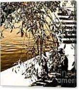 At The Lake-44 Canvas Print