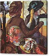 At The Milliner's  Canvas Print