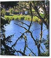 At The Oregon Coast Canvas Print