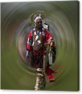 At The Powwow Sault Ste Marie Michigan Canvas Print