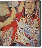 At The Powwow Canvas Print