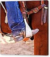 At The Rodeo Canvas Print