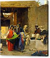 At The Souk Canvas Print