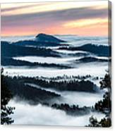 At The Top Of The World Canvas Print