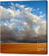 Clouds Over The Atacama Desert Chile Canvas Print