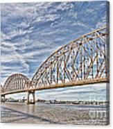 Atchafalaya River Bridge Canvas Print