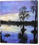 Atchafalya Sunrise Canvas Print