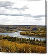 Athabasca Fall Canvas Print