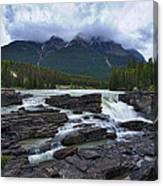 Athabasca Falls #3 Canvas Print