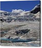 Athabasca Glacier 1 Canvas Print