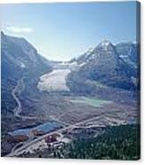 1m3735-athabasca Glacier Canvas Print
