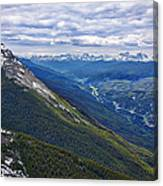 Athabasca River Valley - Jasper Canvas Print