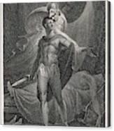 Athena/minerva Advises  Diomedes - Who Canvas Print