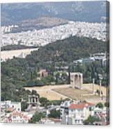 Athens 3 Canvas Print