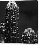 Atlanta At Night  Canvas Print
